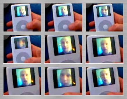 iPod photo thumb cinema flip book
